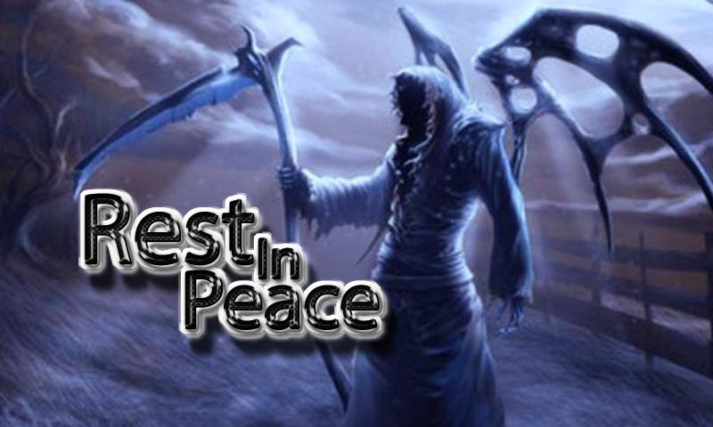 rest in peace photo frame screenshot