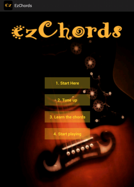 ezChords - Learn Guitar- screenshot