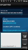 Screenshot of Beacon - Find My Droid