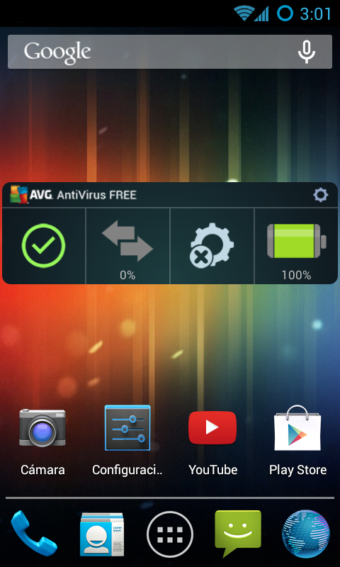 AVG AntiVirus GRATIS - screenshot