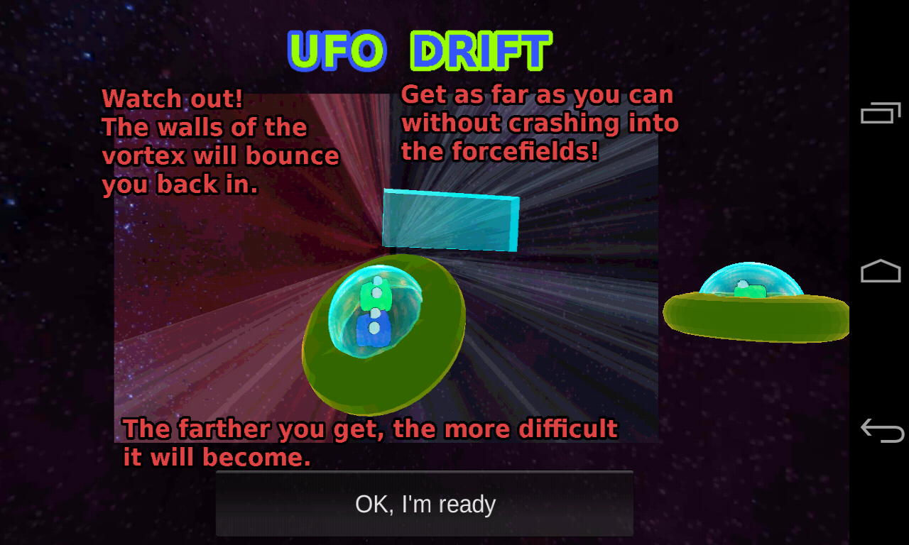 UFO Drift - screenshot
