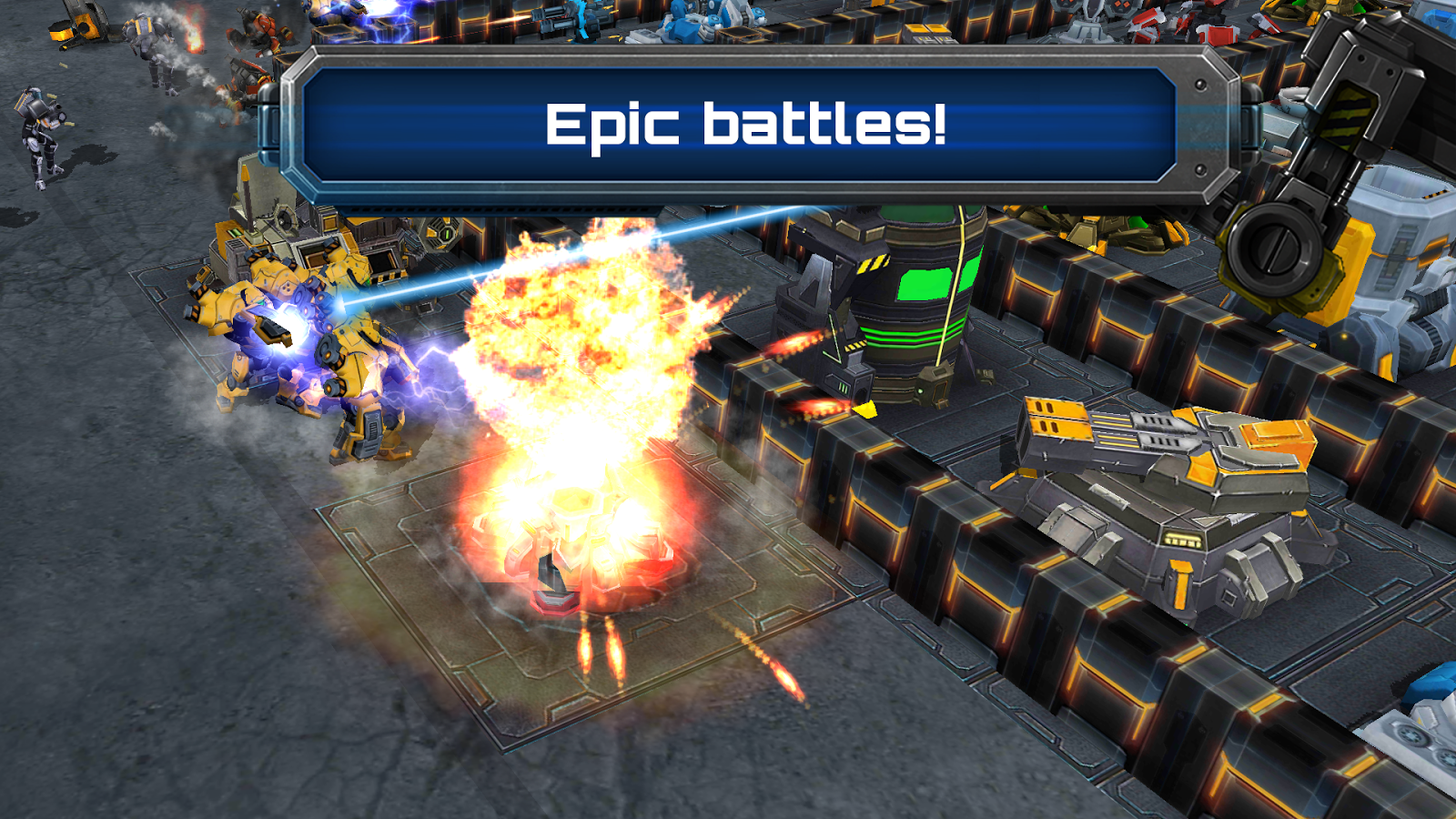 Galaxy Control: 3d strategy - screenshot