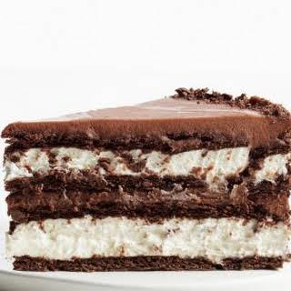 Chocolate-Hazelnut Icebox Cake.