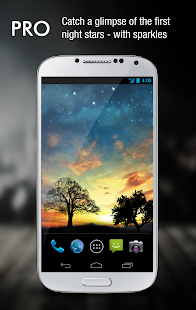 Sunset Hill Pro Live Wallpaper Screenshot