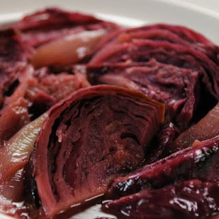 Braised Red Cabbage with Caramelized Apples Recipe
