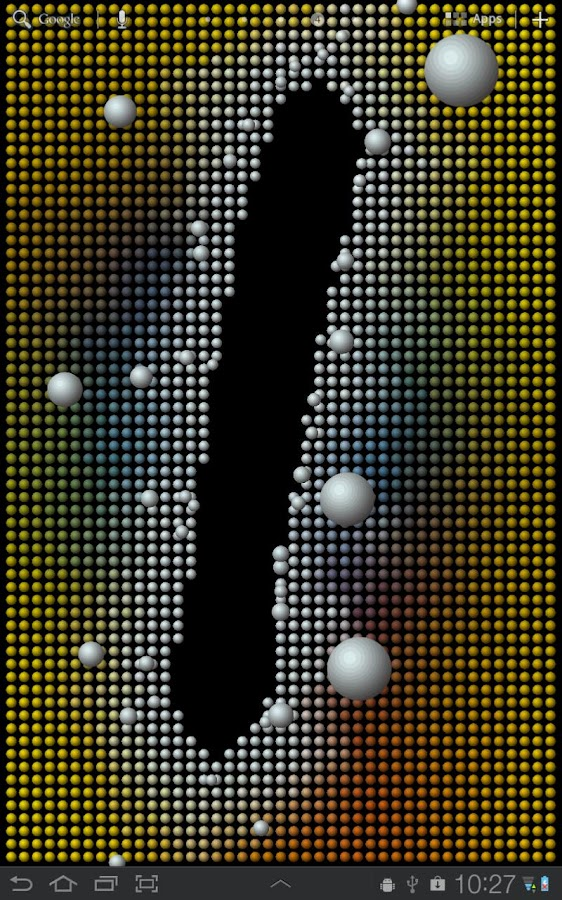 Magnetic Balls Free- screenshot