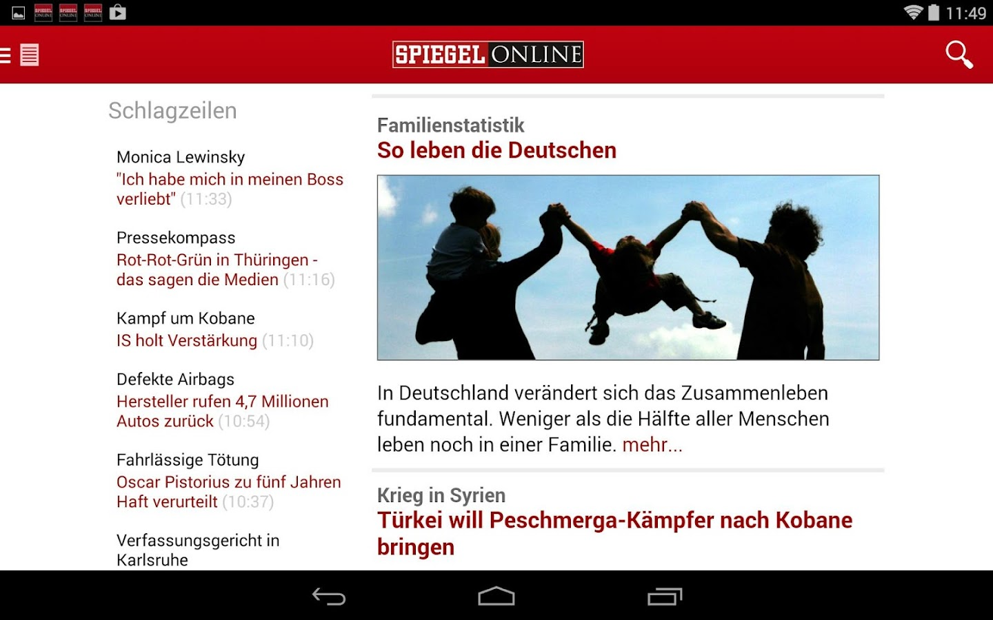 spiegel online news android apps on google play. Black Bedroom Furniture Sets. Home Design Ideas