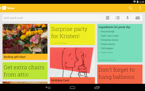 Google Keep Screenshot 18