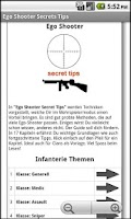 Screenshot of Ego Shooter Secret Tips FREE