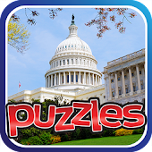 USA Cities & Landmarks Puzzles