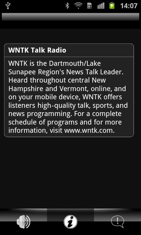 WNTK Radio - screenshot