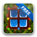 Xmas Garland Wallpaper Free icon