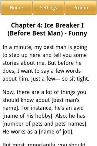 How to write a funny wedding speech