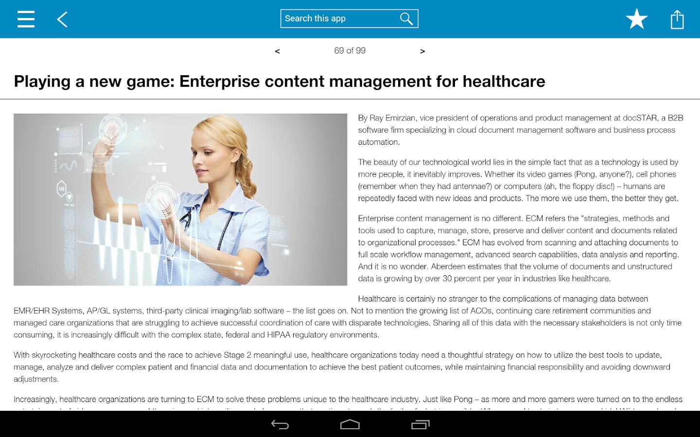 IBM Content Zone - screenshot