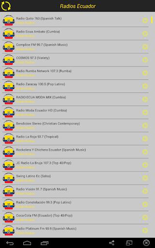 Ecuador Radios Live