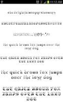 Screenshot of OldEng Fonts for FlipFont free