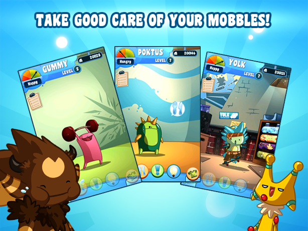 Mobbles -  mobile creatures! - screenshot