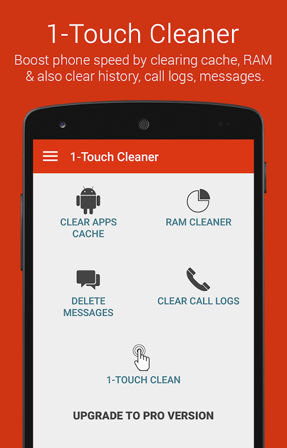 1-Touch Cleaner - screenshot