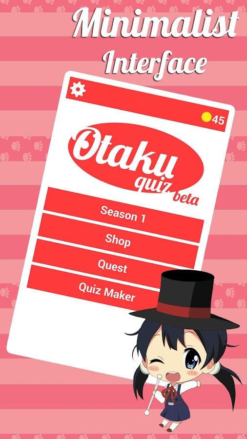 Otaku Quiz- screenshot