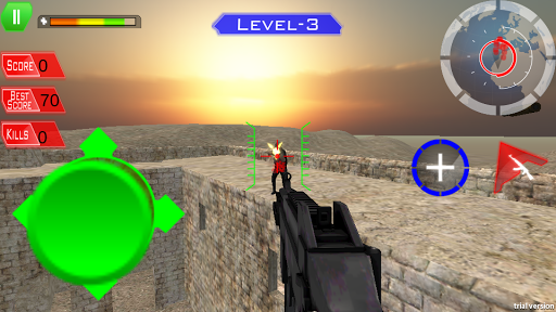 【免費動作App】Zone Death Shooter Assault-APP點子