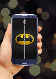 バットマンジッパーロック画面のおすすめ画像1