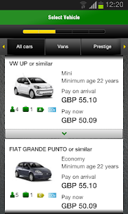 Europcar – Car Rental - screenshot thumbnail