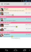 Screenshot of IP-SMS - cheap text messages