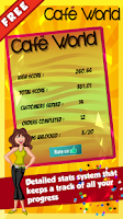 Screenshot of Cafe World