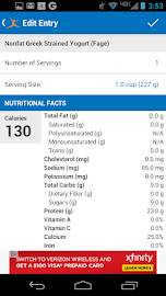 Calorie Counter - MyFitnessPal Screenshot 3