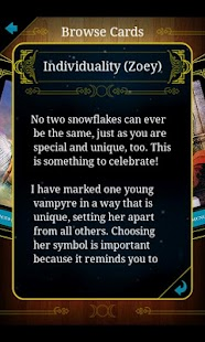 House of Night Oracle Cards - screenshot thumbnail