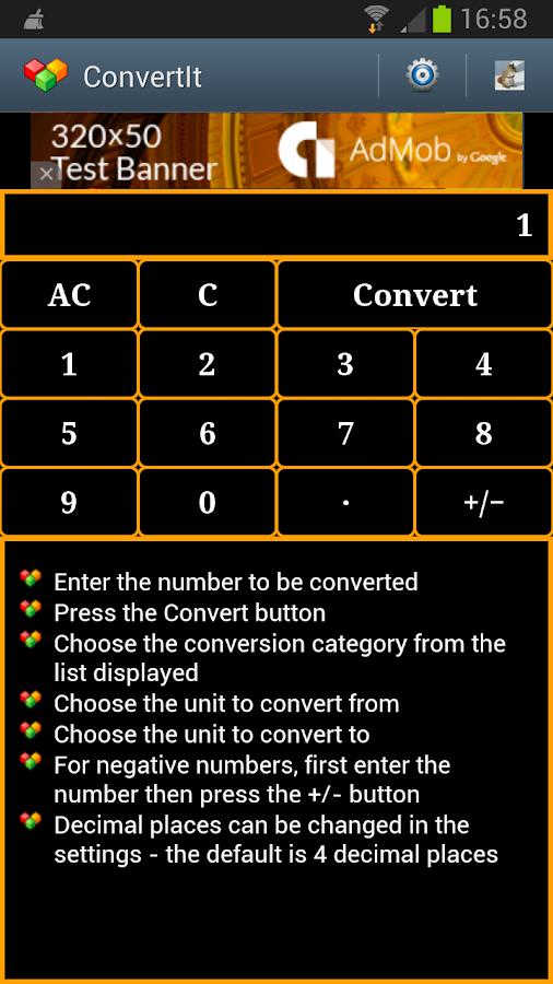 ConvertIt - Unit Converter - screenshot