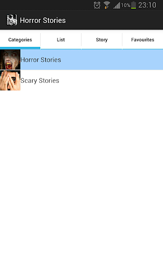 Horror and Scary Stories