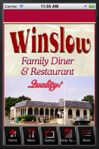 【免費商業App】Winslow Family Diner-APP點子