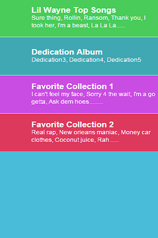 Lil Wayne Collections