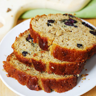 Blueberry Banana Bread (Gluten Free).