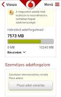 Screenshot of Mobil Vodafone