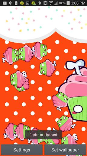 Zombie Cupcakes Live Wallpaper