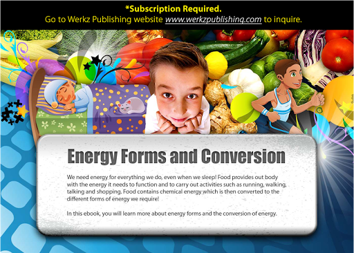 Energy Forms and Conversion