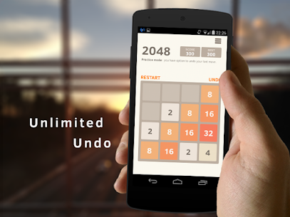 2048 Number Puzzle Game MOD Apk (Unlimited Score) 1