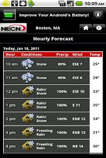 NECN WX - screenshot thumbnail