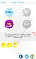 Screenshot of Fitness Check-up