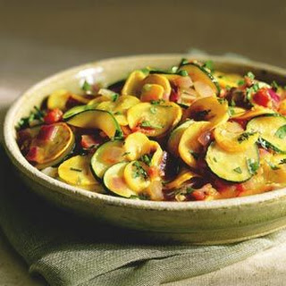 Summer Squash with Southwestern Flavors