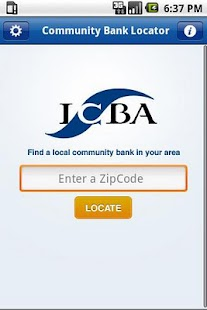 Community Bank Locator - screenshot thumbnail