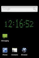 Screenshot of 3D Clock Live Wallpaper