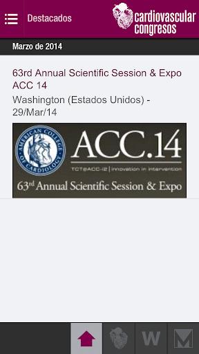 CARDIOLOGIA Congresos