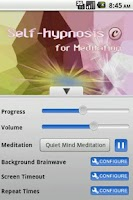 Screenshot of Self-Hypnosis for Meditation