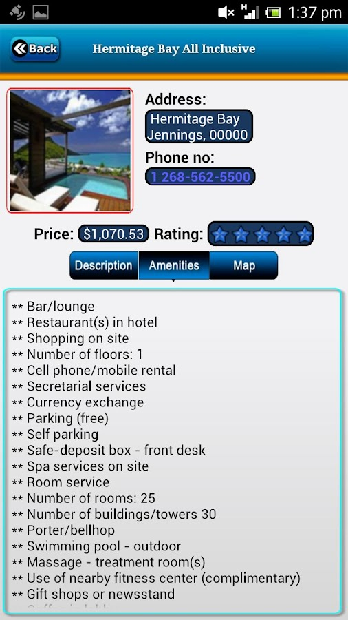 Antigua Offline Travel Guide- screenshot