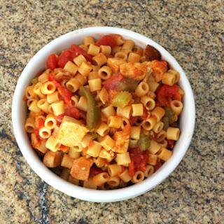 Spanish Chicken with Pasta Recipe