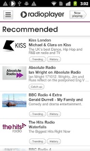 Radioplayer Mobile :: UK Radio - screenshot thumbnail