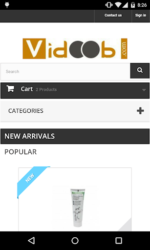 Vidoob - Online Cosmetic Store